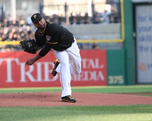 Francisco Liriano has gone from a guy with an ERA over 5 the last two seasons, to an ace. (Photo Credit: David Hague)