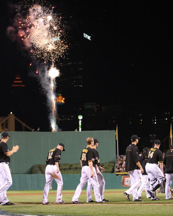 PNC Park Fireworks