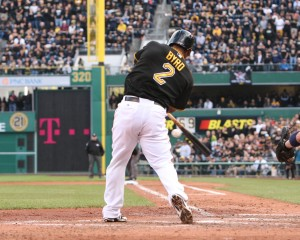 MLBTR projects that Marlon Byrd will return to the Pirates. (Photo Credit: David Hague)