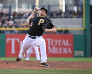 Mark Melancon was a huge steal in the Joel Hanrahan trade last off-season. (Photo Credit: David Hague)