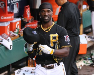 Andrew McCutchen is a finalist for the NL MVP award. (Photo Credit: David Hague)