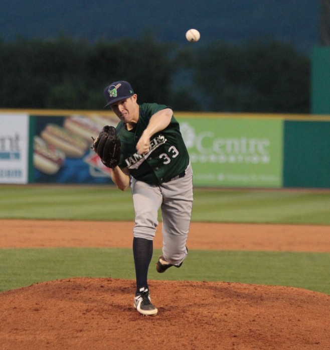 Cody Dickson is a lefty with the upside of a middle of the rotation starter. (Photo Credit: Mark Olson)
