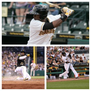 When Gregory Polanco arrives, he could give the Pirates the best outfield in the majors. (Photos: David Hague, Tim Williams)