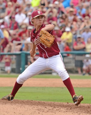 Luke Weaver could now be an option for the Pirates with their new pick - Image Credit: Florida State University