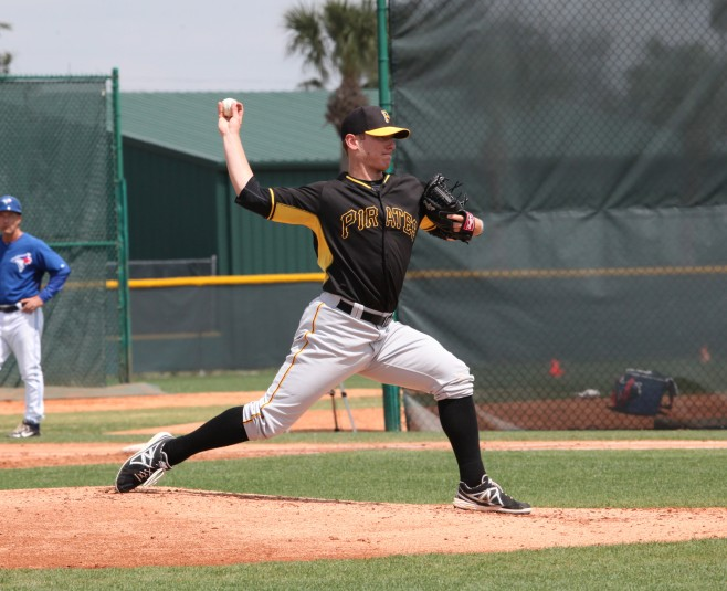 Chad Kuhl will get the start for Bradenton