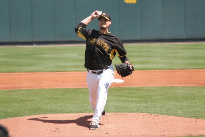 Charlie Morton looked like a strong middle of the rotation starter after returning from Tommy John surgery.
