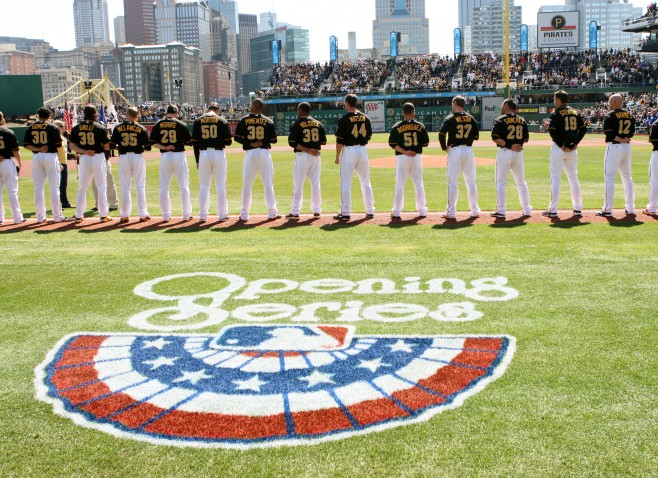 The Pirates on-base percentage has declined from a season ago. (Photo Credit: David Hague)