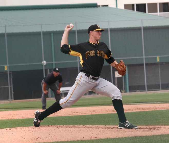 Nick Kingham has pitched great in three starts with Indy
