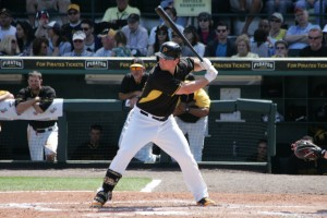 Travis Snider projects to get the bulk of the playing time in right field to start the year.