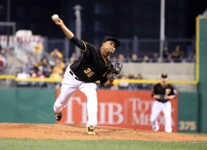 Volquez started strong, with a 1.93 ERA in his first four starts, but allowed six runs in each of his last two outings. (Photo Credit: David Hague)