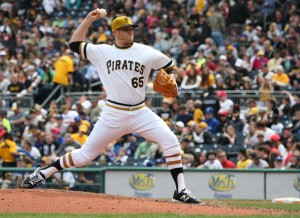 So far, Casey Sadler is the best late round pick of the Pirates in the last seven years (Photo by: David Hague)