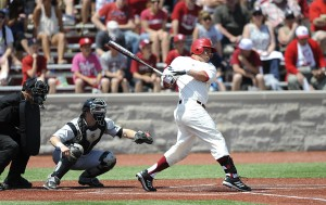 Kyle Schwarber would be a great bat for the Pirates to take in the first round. (Photo Credit: IU Athletics)