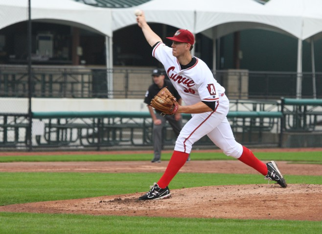 Nick Kingham has some of the best upside in the Pirates farm system (Photo Credit: David Hague)