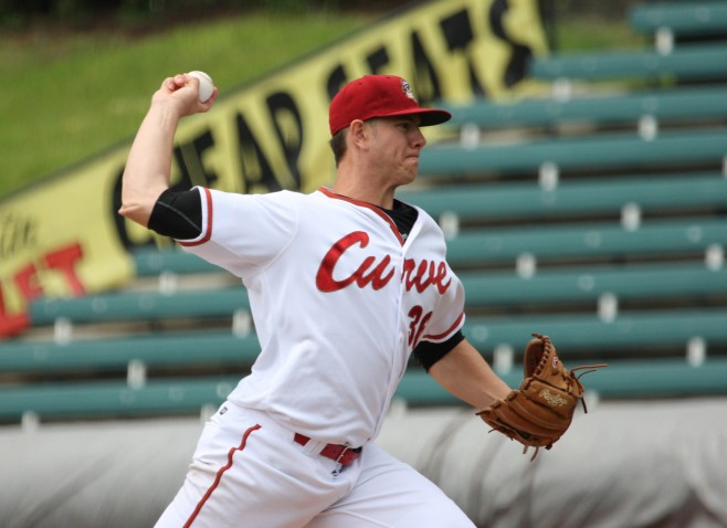 Kingham went seven innings in his last start (Photo Credit: David Hague)
