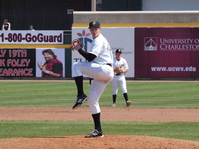 Neverauskas threw five shutout innings in his last outing (photo credit: Robin Black)