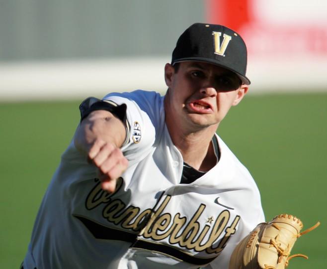 Tyler Beede - Photo Credit: Vanderbilt University