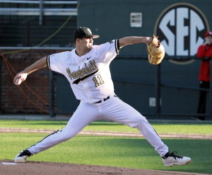 Tyler Beede - Photo Credit: Vanderbilt University