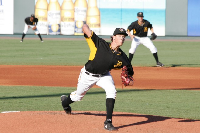 Glasnow had his last start washed out by rain