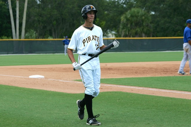 Tucker led the Pirates in stolen bases and runs scored