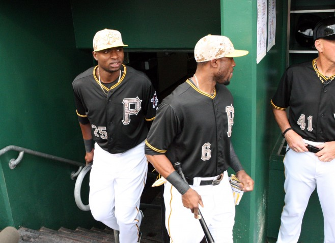 Gregory Polanco and Starling Marte