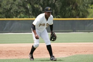 Julio de la Cruz was ranked first overall among DSL Pirates players in 2012