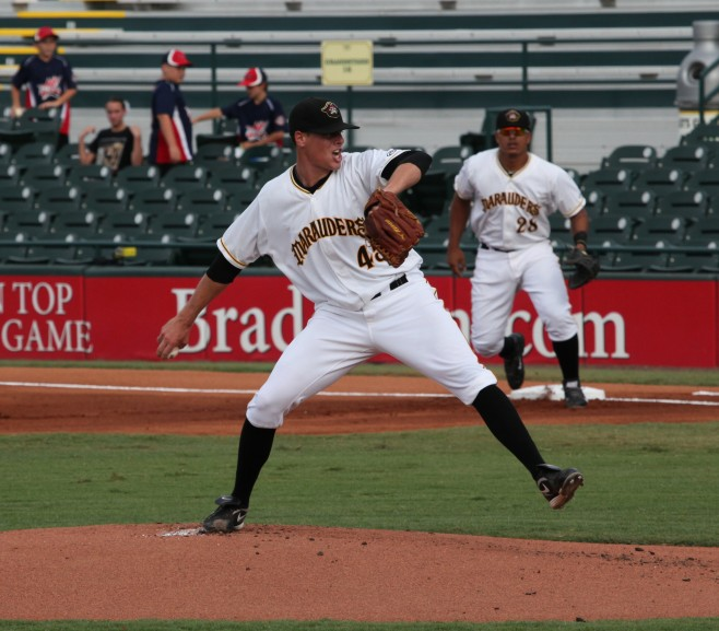 Kuchno is one of the best ground ball pitchers in the Pirates system