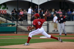 Sanchez made his debut in the Pirates system earlier this month (photo credit: Donald Lancaster)