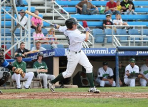 Luplow led Jamestown in walks this year (Photo Credit: David Hague)