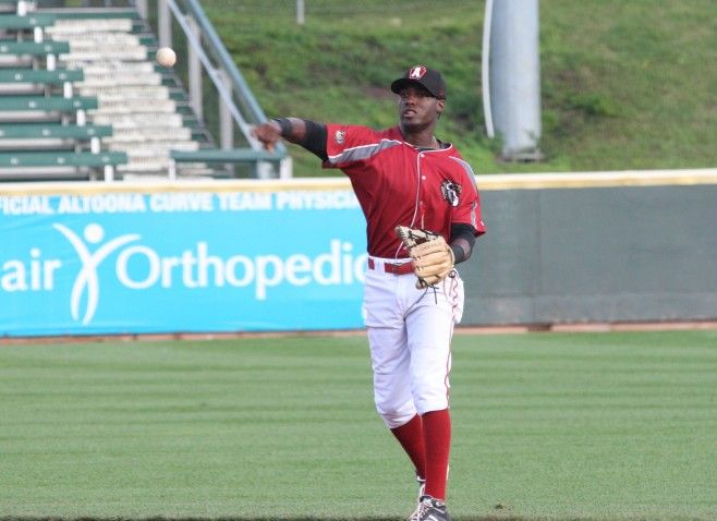 Hanson is the top prospect at 2B, but there are other possibilities for the position (Photo credit: David Hague)