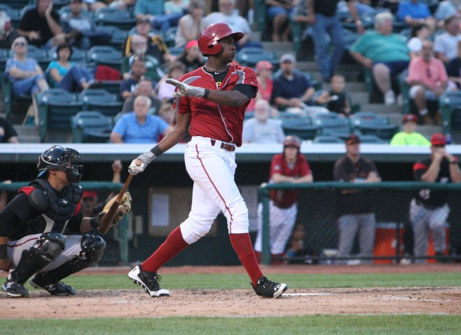 Josh Bell made the move to first base over the off-season. (Photo credit: David Hague)