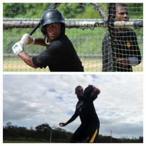 Raul Sir(top) and Richard Mitchell are the top DSL Pirates hitter and pitcher for the month of July
