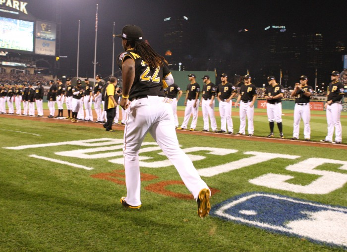 Andrew McCutchen had the highest WAR among NL position players. (Photo Credit: David Hague)